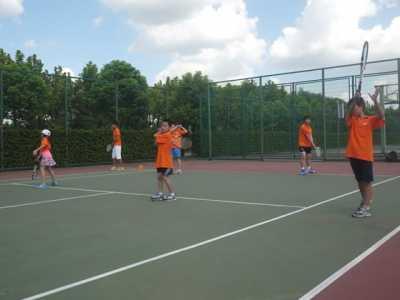 上海网球冬令营 参加网球冬令营就来上海奥林修斯