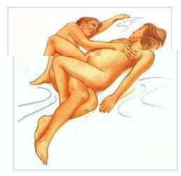 性生活姿势图 这3个性生活姿势适合孕妇