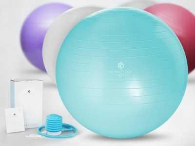 瘦身球 哈他彩色球形瑜伽球