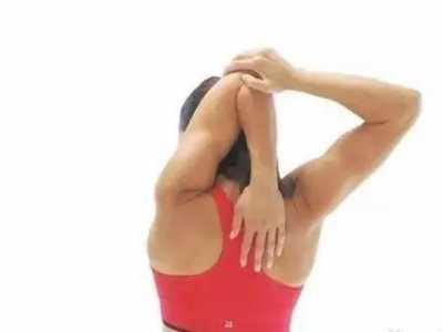 手臂运动后放松图片 放松手臂紧张肌肉