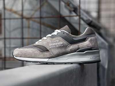 灰色新百伦运动鞋 新百伦最新款灰色调经典New Balance 997