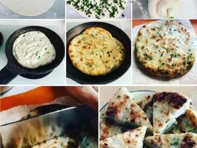 tvb视后 分享首次做葱油饼