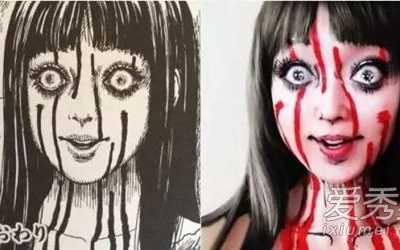 超恐怖的二次元萝莉 这才是真正的二次元妆容