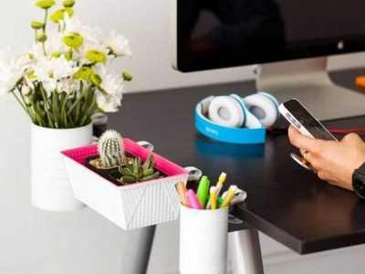 办公室收纳盒 方便美观的办公桌收纳盒diy图解
